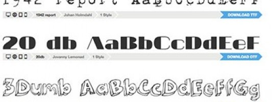 Five Reliable Sources for Free Fonts
