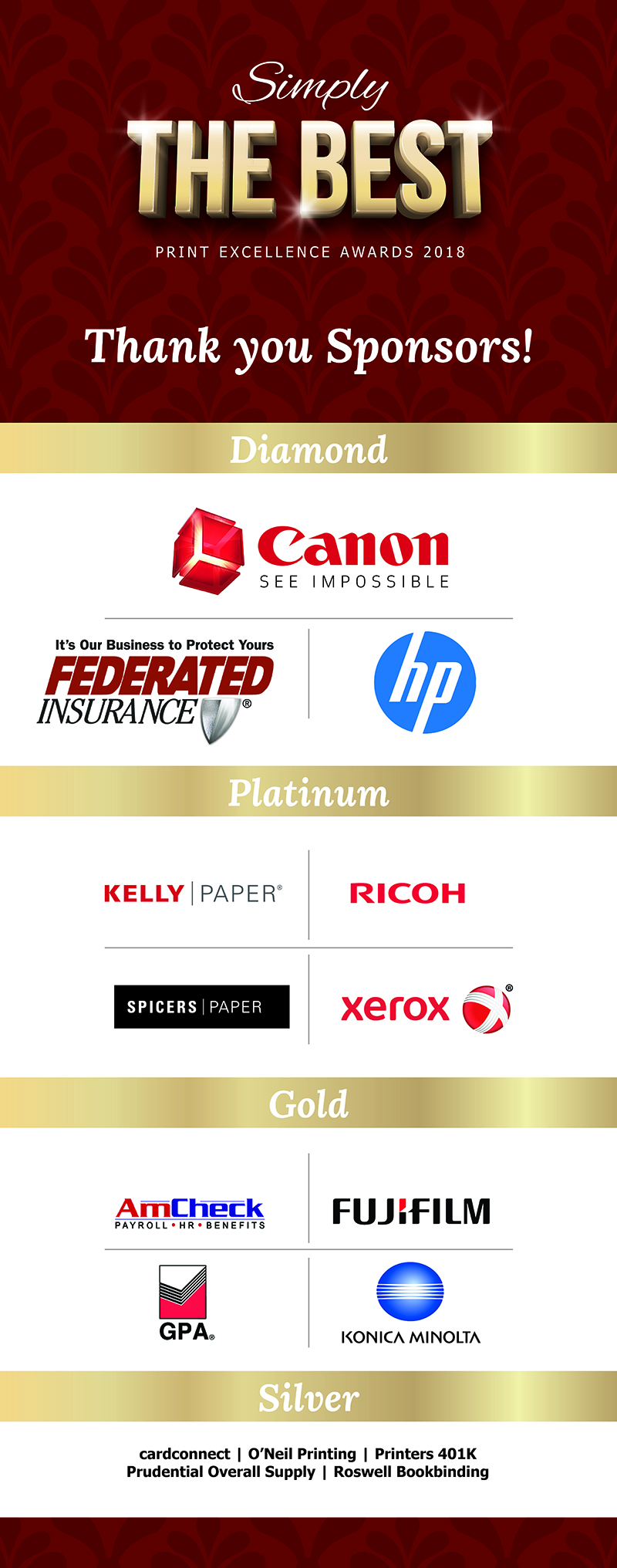Western States Printing Alliance | 2018 Print Excellence Awards